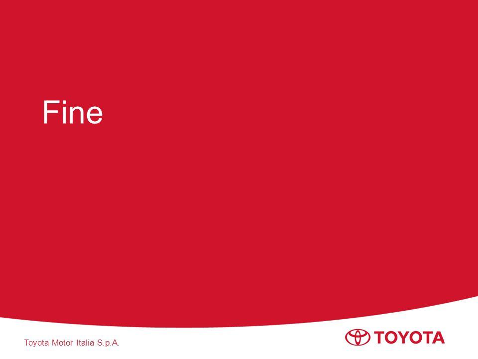 Toyota Motor Italia S.p.A. Fine