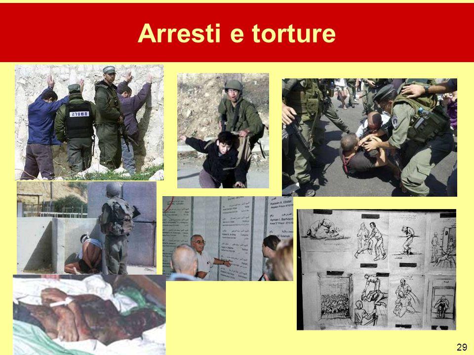 29 Arresti e torture