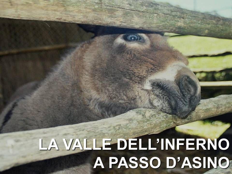 LA VALLE DELL'INFERNO A PASSO D'ASINO