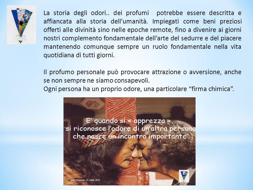 Le percezioni olfattive hanno un significato prevalentemente emotivo che deriva dalla stessa conformazione anatomica del sistema nervoso centrale.