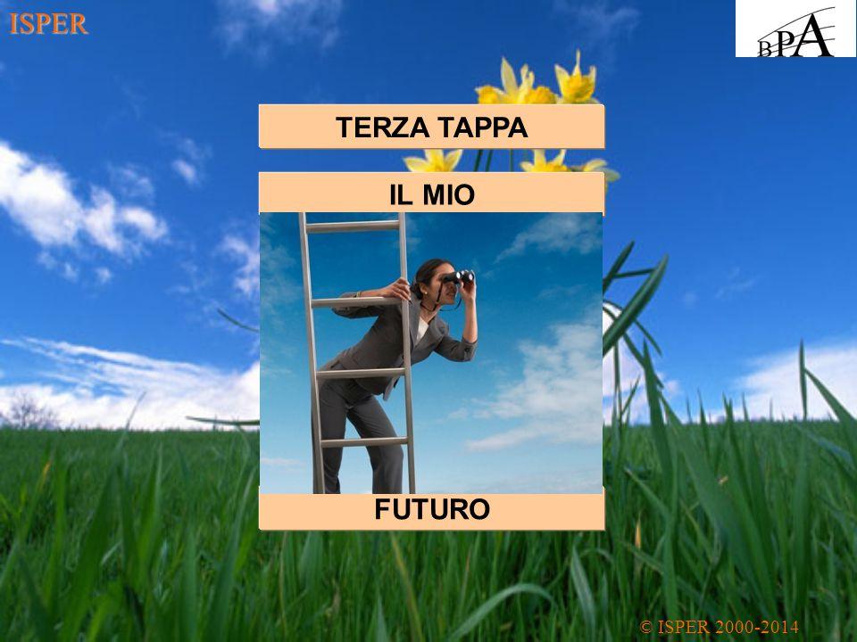 ISPER TERZA TAPPA IL MIO FUTURO
