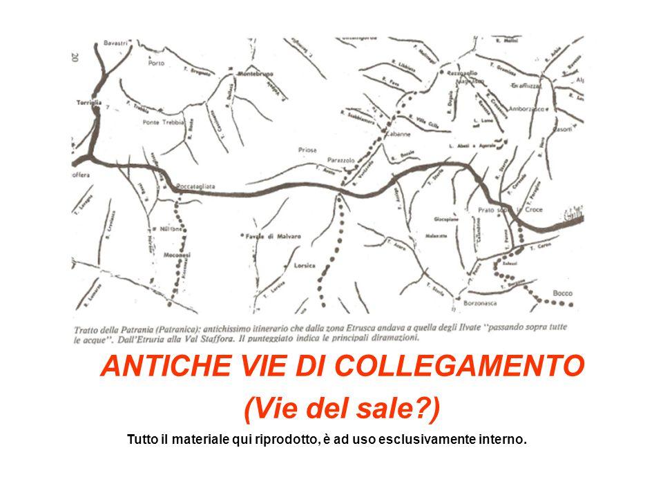 ANTICHE VIE - muli Dall'età romana fino al XIX secolo la strada mulattiera è una strada rurale simile al sentiero, ma adatta anche alla circolazione di animali da soma.