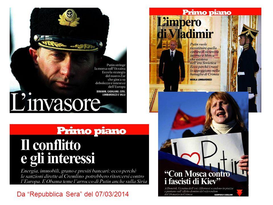 Da Repubblica Sera del 07/03/2014