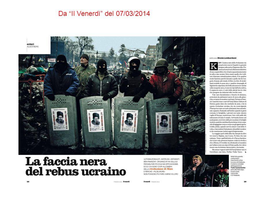 Da Il Venerdì del 07/03/2014
