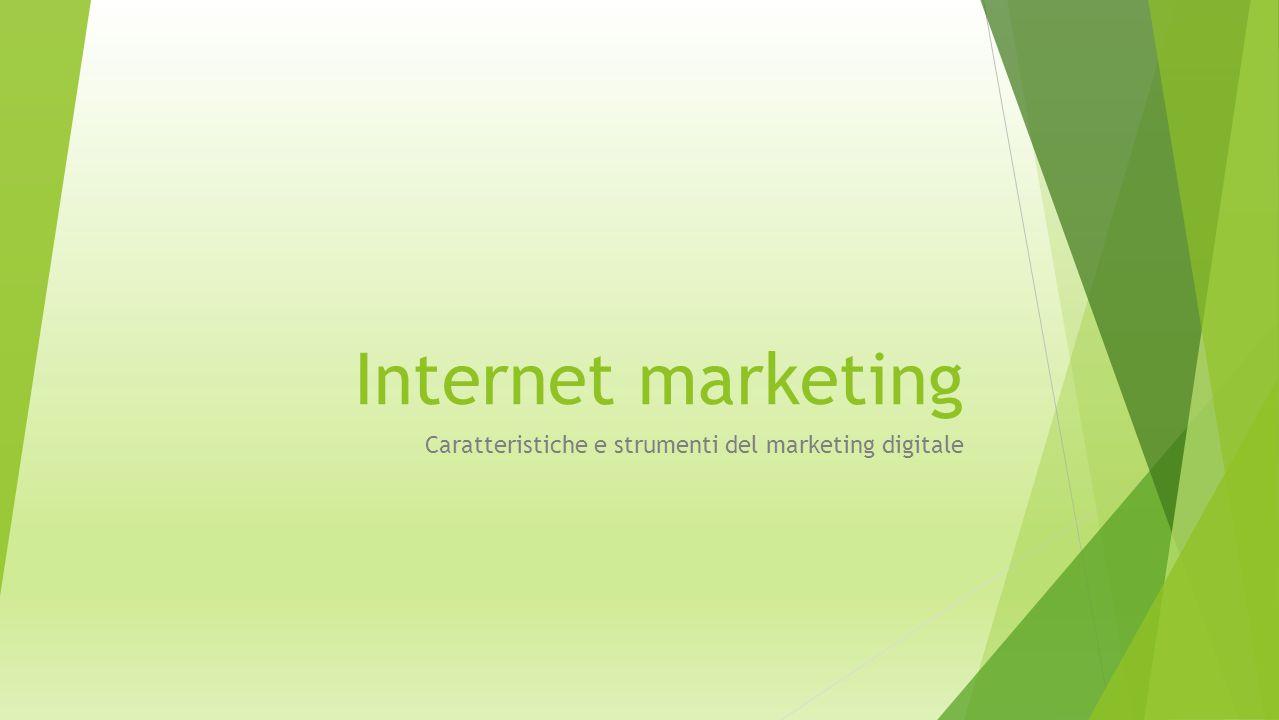 Strumenti di social media marketing Caratteristiche e peculiarità degli strumenti presenti nei vari social network 2.