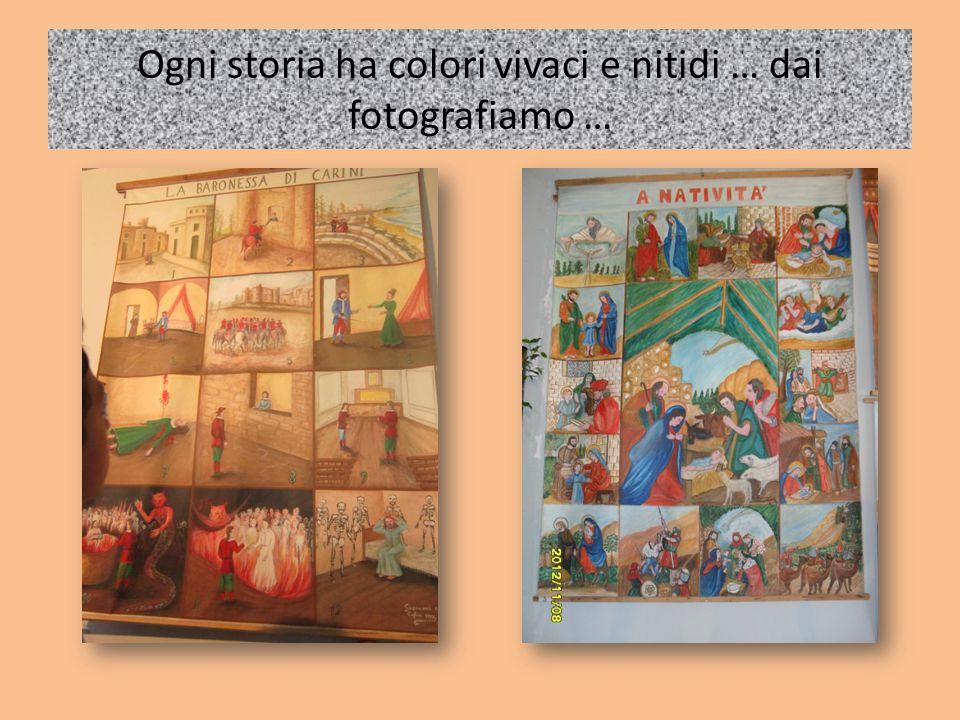 Ogni storia ha colori vivaci e nitidi … dai fotografiamo …