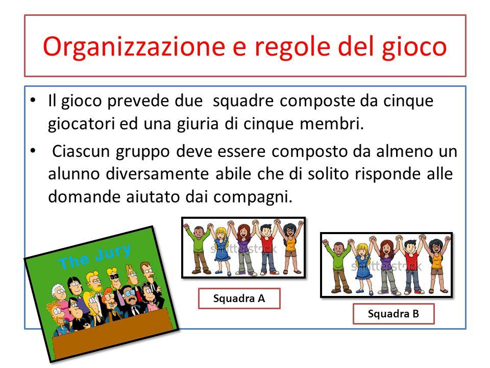 Organizzazione e regole del gioco Il gioco prevede due squadre composte da cinque giocatori ed una giuria di cinque membri. Ciascun gruppo deve essere