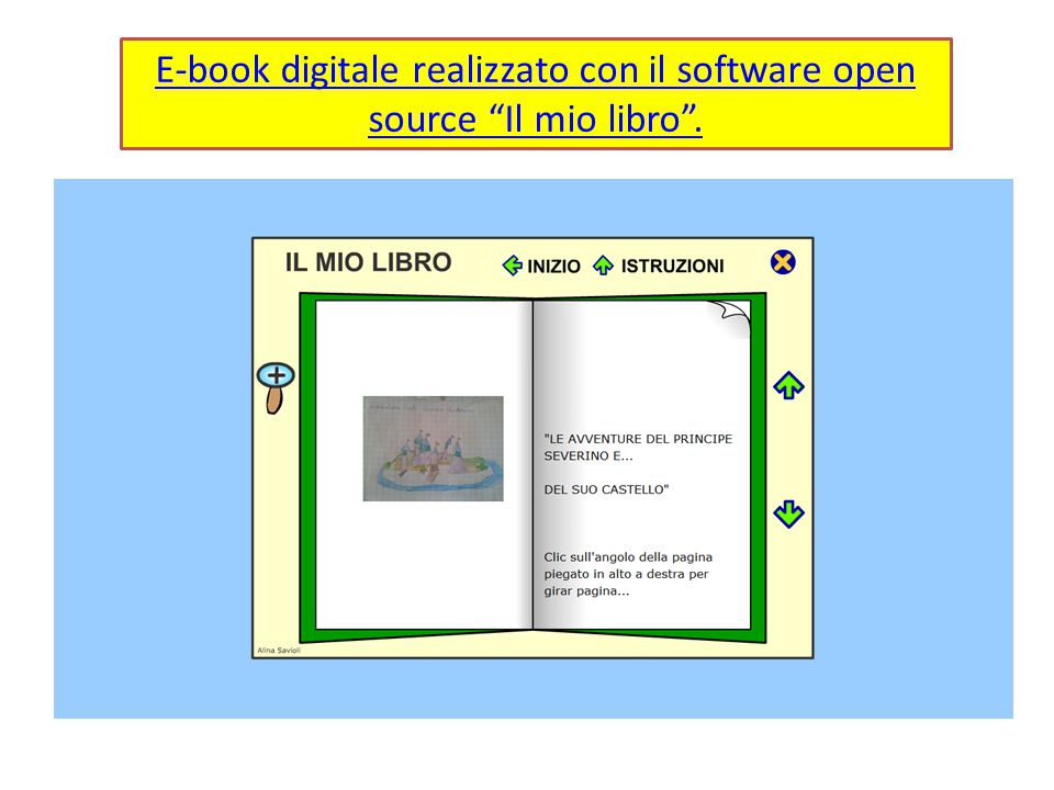 "E-book digitale realizzato con il software open source ""Il mio libro""."