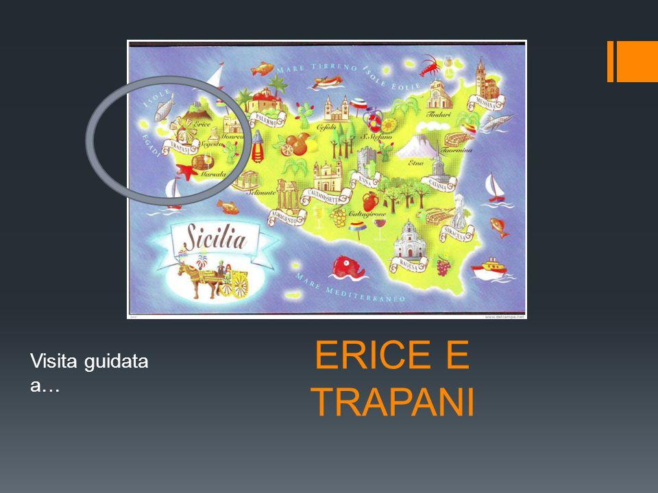 ERICE  Erice è un piccolo borgo arroccato sulle montagne.  Camminare, gente, camminare…..