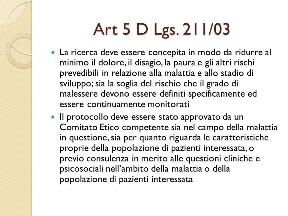 Art 5 D Lgs.