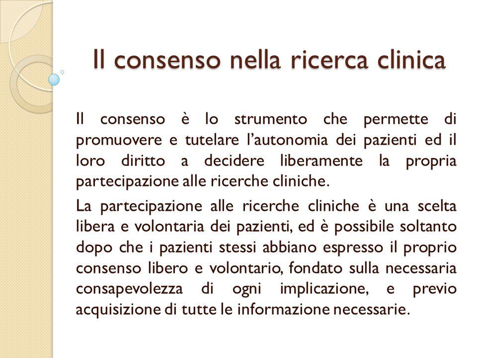 La sperimentazione clinica in pazienti adulti o minori che non sono in grado di dare il consenso informato in situazioni di urgenza (CNB 16.10.2012) IL CNB propone: - la modifica dell'art.