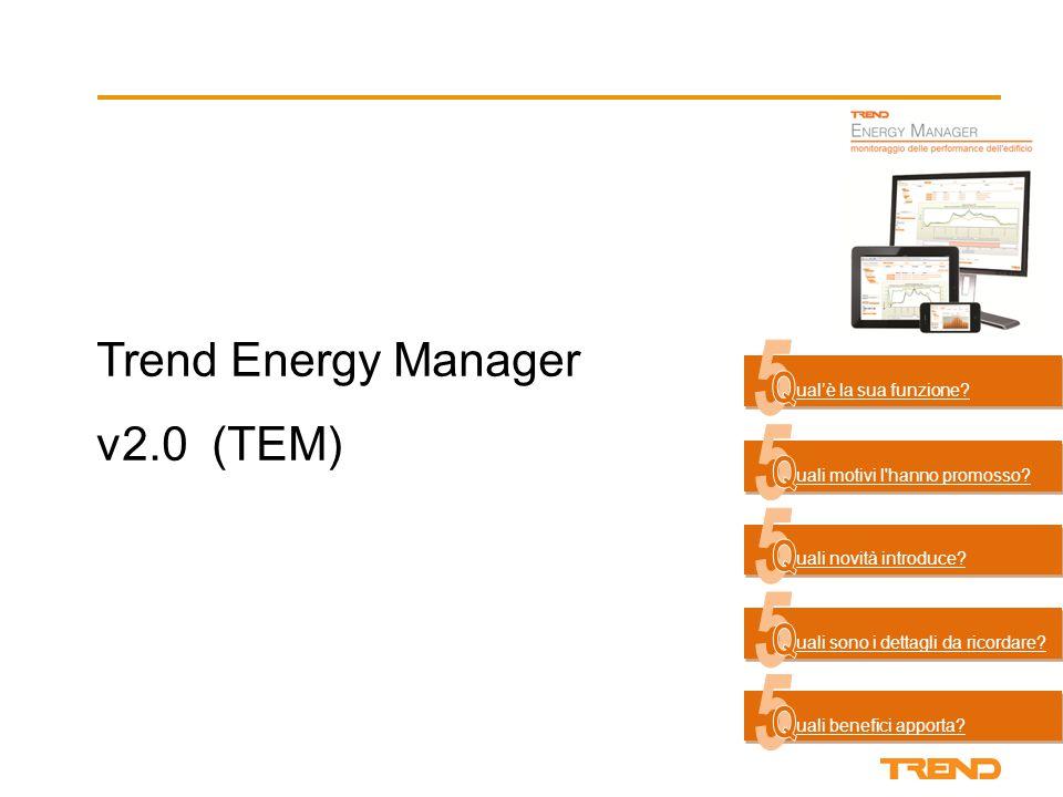 Benefici per l'utente finale  Miglioramento delle prestazioni energetiche del sito grazie al riconoscimento delle aree di miglioramento.