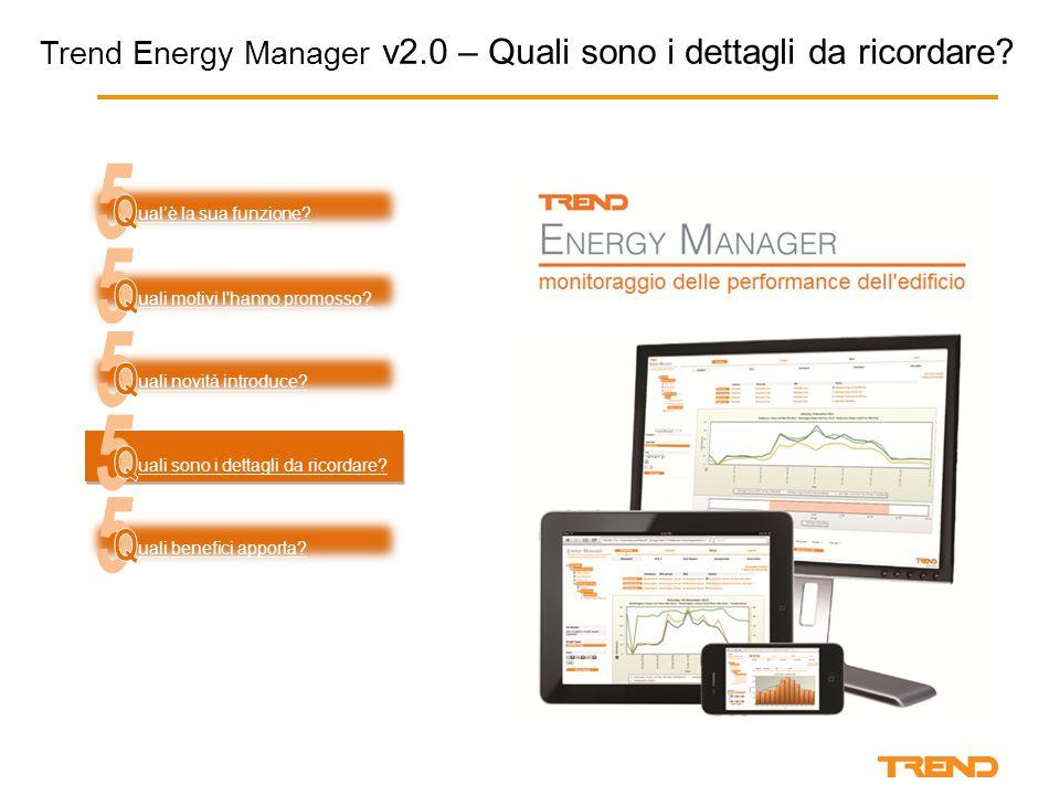 Trend Energy Manager v2.0 – Quali sono i dettagli da ricordare.