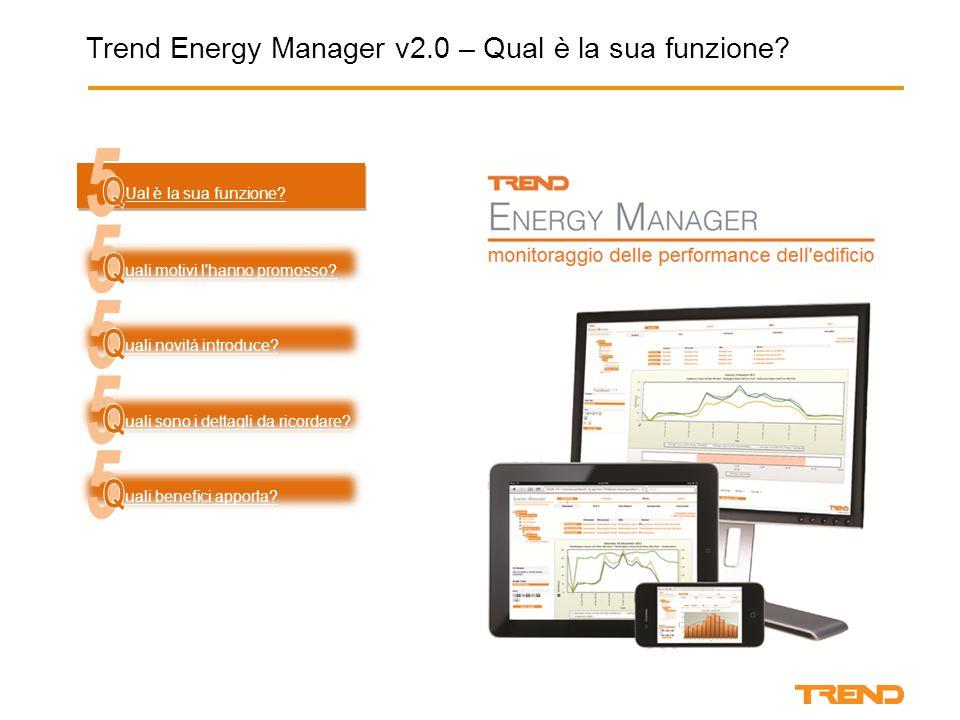 Trend Energy Manager v2.0 – Qual è la sua funzione.