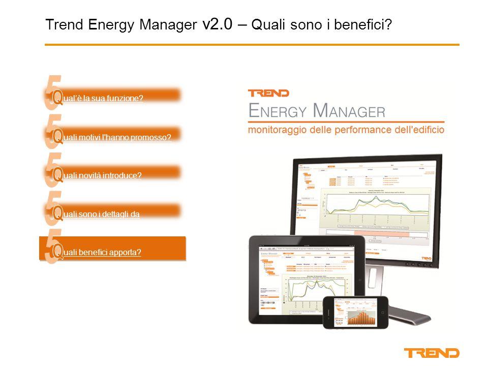 Trend Energy Manager v2.0 – Quali sono i benefici.