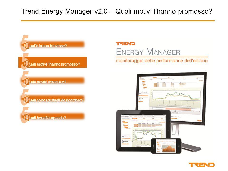 Trend Energy Manager v2.0 – Quali motivi l hanno promosso.