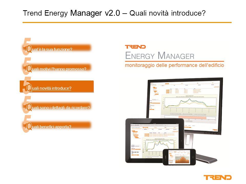 Trend Energy Manager v2.0  Licenza elettronica uali motivi l'hanno generato.