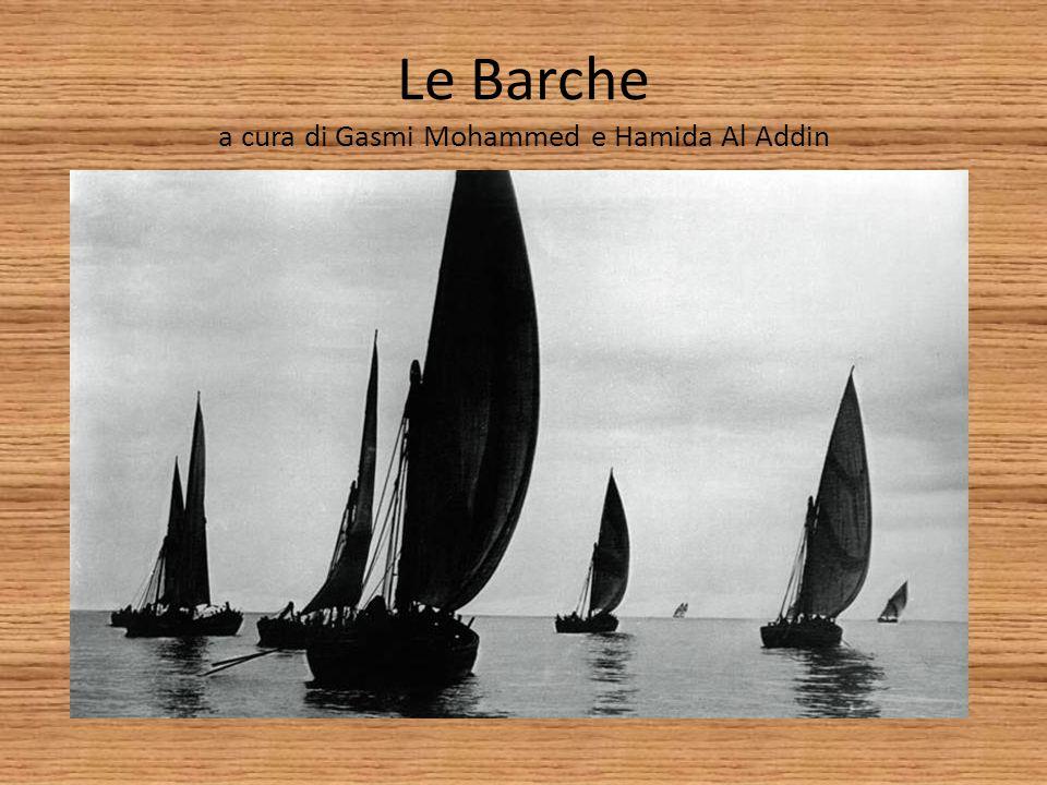 Le Barche a cura di Gasmi Mohammed e Hamida Al Addin