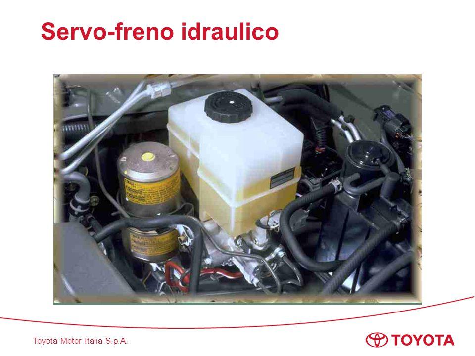 Toyota Motor Italia S.p.A. Servo-freno idraulico Nessuna pressurizzazione
