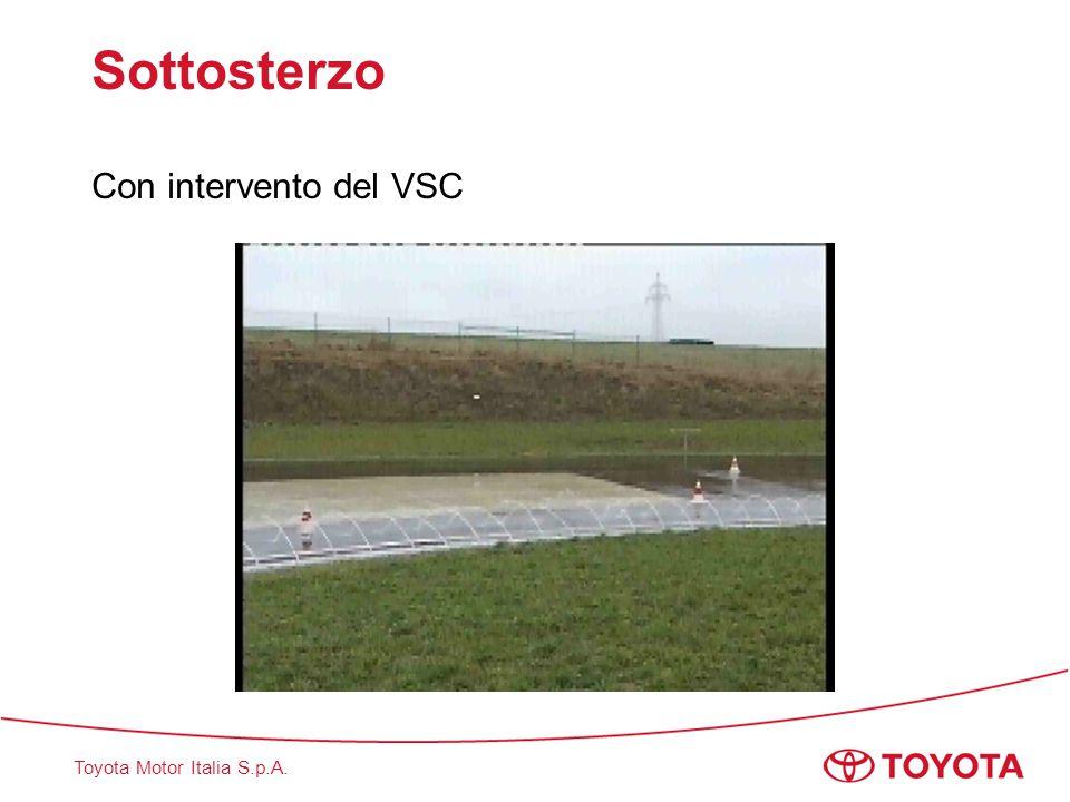 Toyota Motor Italia S.p.A. Sottosterzo Con intervento del VSC