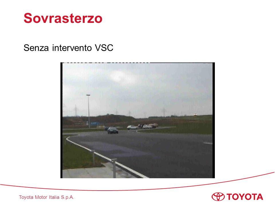 Toyota Motor Italia S.p.A. Sovrasterzo Senza intervento VSC