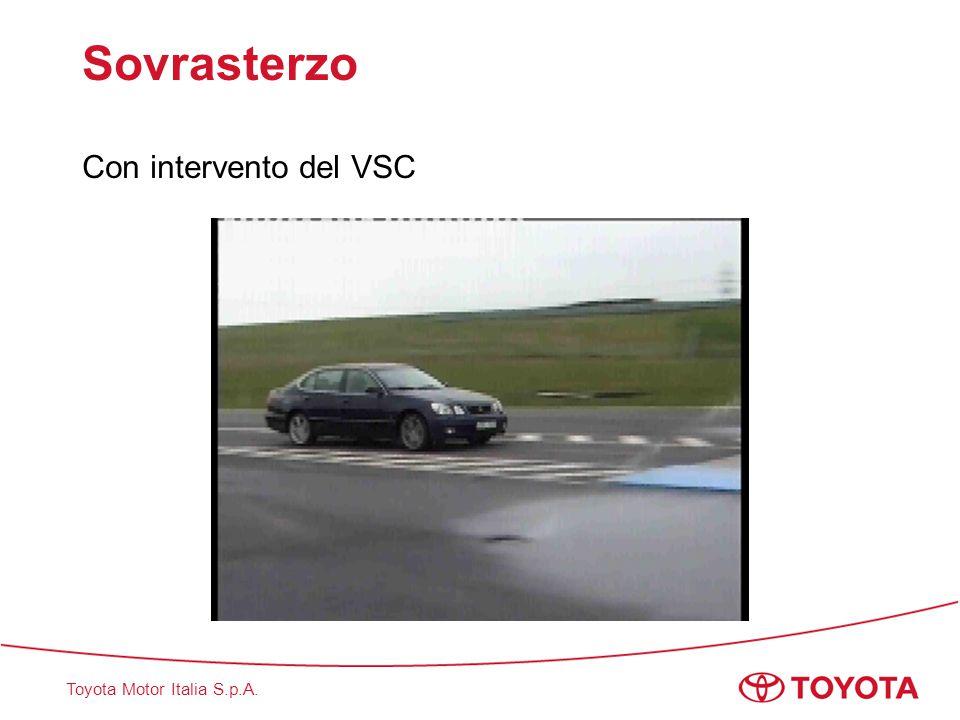 Toyota Motor Italia S.p.A. Sovrasterzo Con intervento del VSC