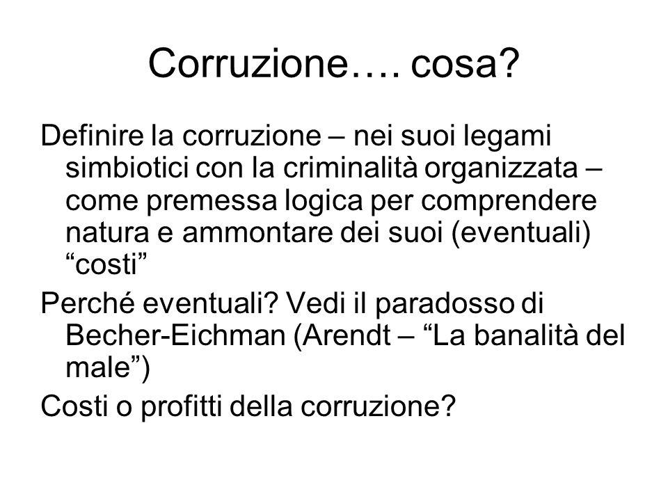 Corruzione…. cosa.