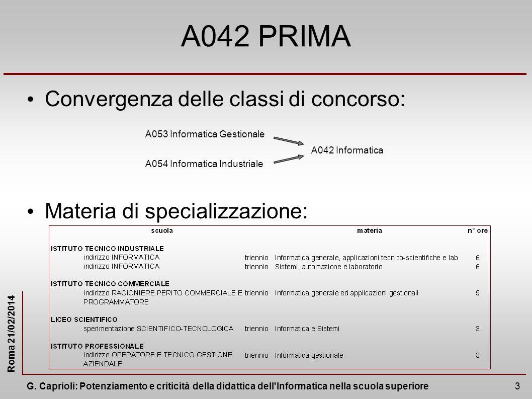 Roma 21/02/2014 G.