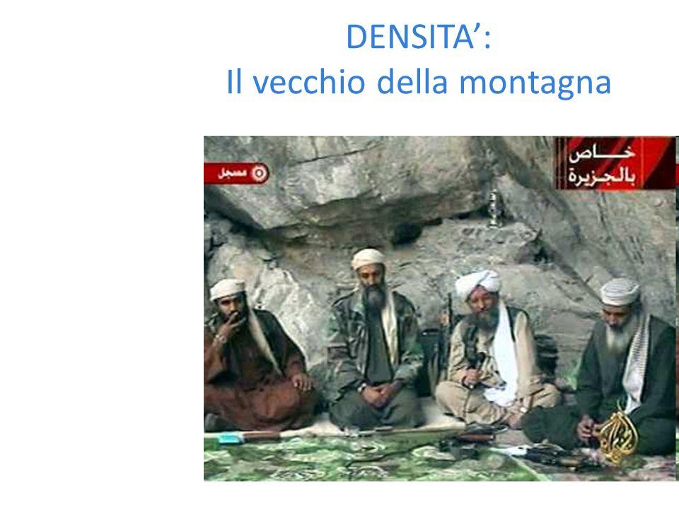 DENSITA': Il vecchio della montagna