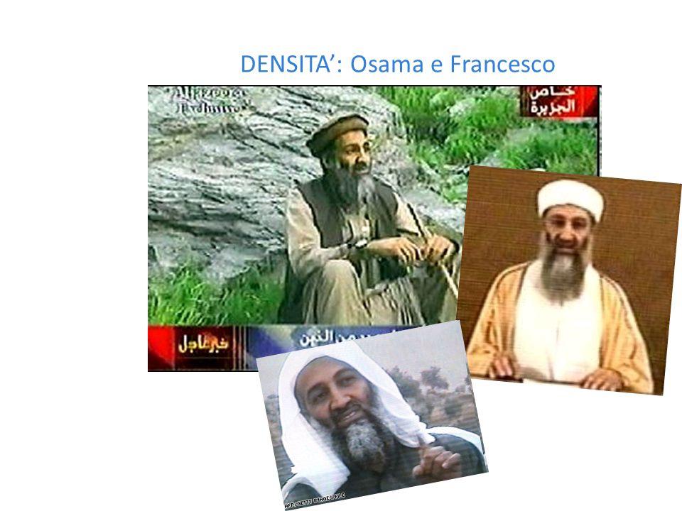 DENSITA': Osama e Satana