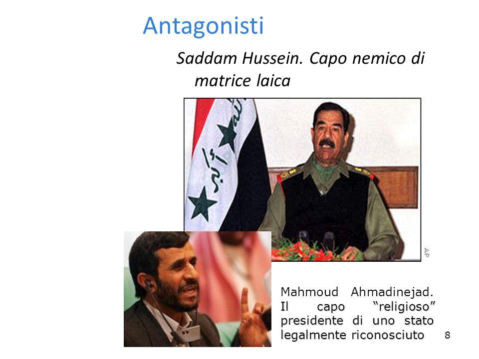 8 Antagonisti Saddam Hussein.