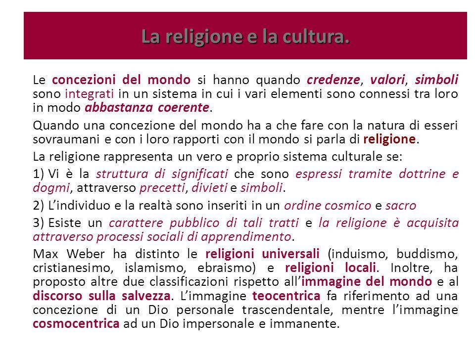 Weber parla di ascetismo quando l'uomo è considerato uno strumento del volere divino, mentre per le religioni che considerano l'essere umano come un vaso, un contenitore pronto ad ospitare l'essenza divina, Weber parla di misticismo.