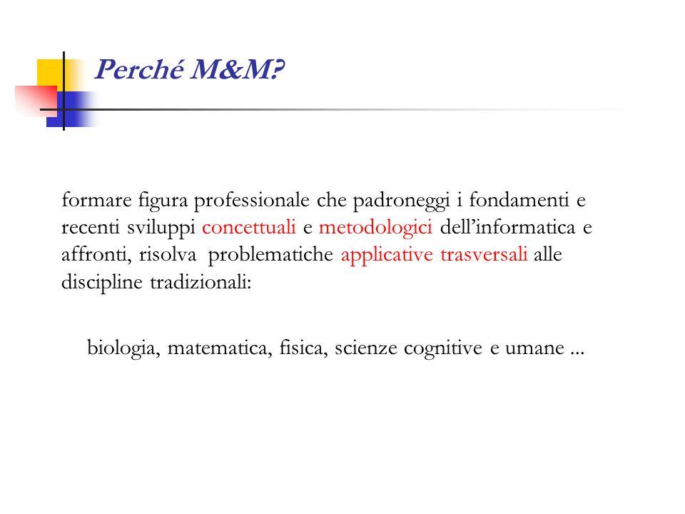Perché M&M.