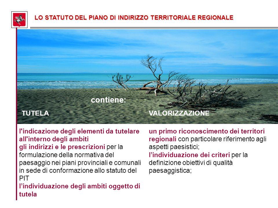 l'indicazione degli elementi da tutelare all'interno degli ambiti gli indirizzi e le prescrizioni per la formulazione della normativa del paesaggio ne
