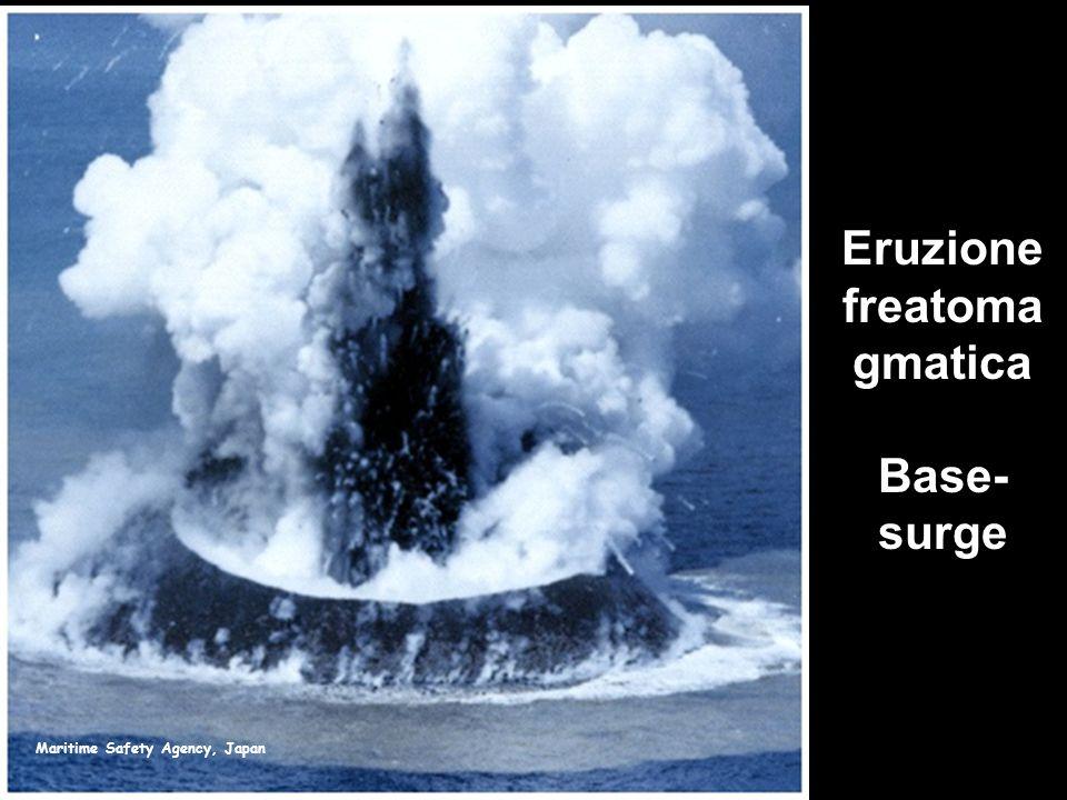 Maritime Safety Agency, Japan Eruzione freatoma gmatica Base- surge