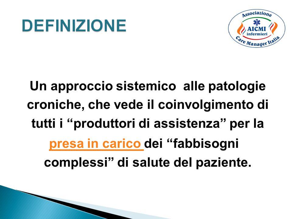 1.Individuazione del caso 2. Valutazione del paziente 3.
