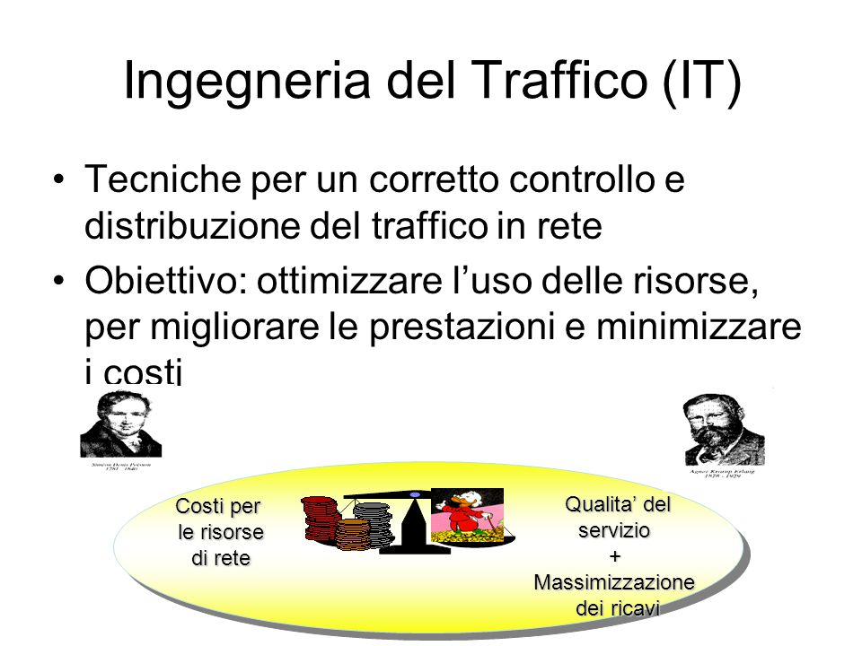 Definizione di Flusso di Traffico Flusso di Traffico unidirezionale LSR di ingresso LSR di uscita