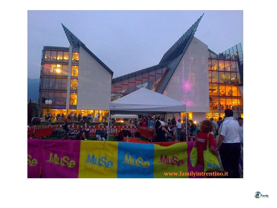19 luglio – Grande Festa per il compleanno del MUSE - Museo delle Scienze di Trento