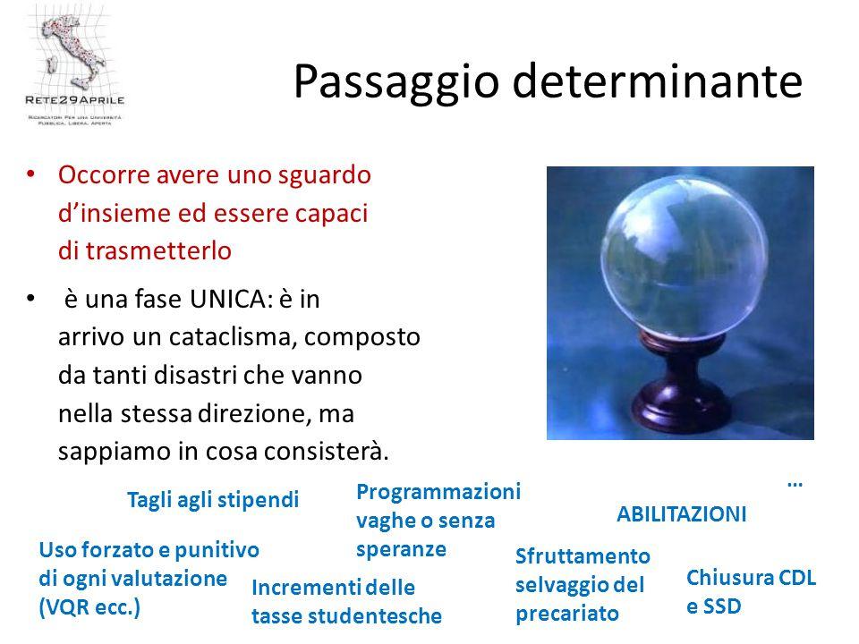 Passaggio determinante Occorre avere uno sguardo d'insieme ed essere capaci di trasmetterlo è una fase UNICA: è in arrivo un cataclisma, composto da tanti disastri che vanno nella stessa direzione, ma sappiamo in cosa consisterà.