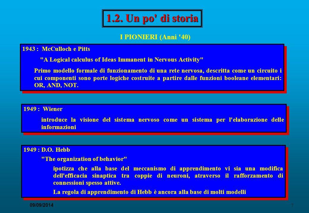 38 09/09/2014 Reti multistrato