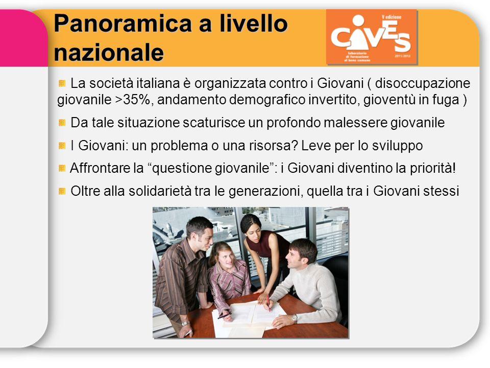 La società italiana è organizzata contro i Giovani ( disoccupazione giovanile >35%, andamento demografico invertito, gioventù in fuga ) Da tale situaz