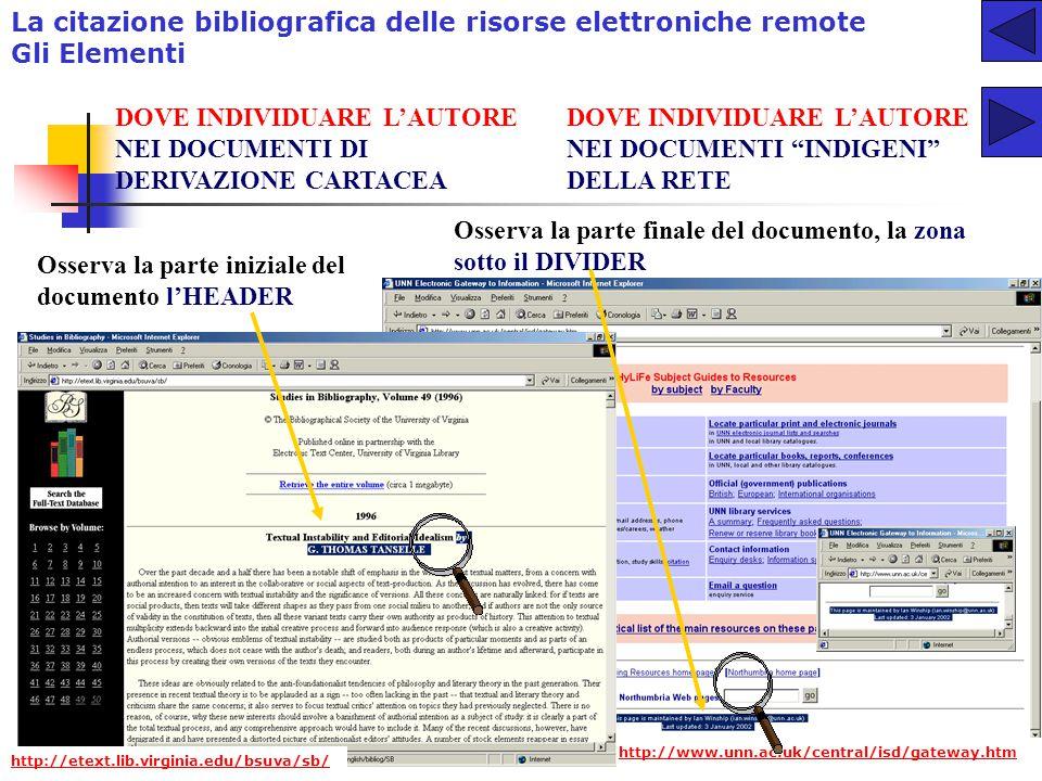 9 L'AUTORE RESPONSABILITA' PRIMARIA > PROPRIETA' INTELLETTUALE identificazione dell'autoreFRONTESPIZIO identificazione dell'autore Sostituti del FRONT