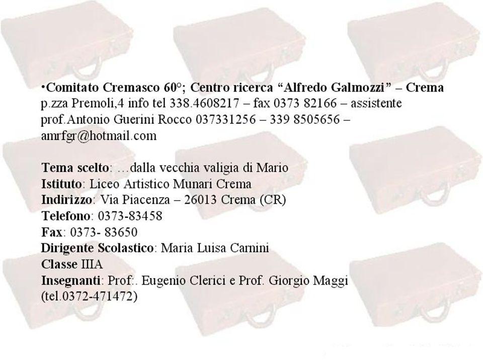 Chi è Mario: Mario Maggi nasce a Cremona nel 1916; frequenta il Conservatorio di Piacenza, si diploma in violino nel 1943 al Conservatorio di Atene e partecipa,neodiplomato, ad un concerto dei Berliner al Grande Bretagne di Piazza Sintagma.