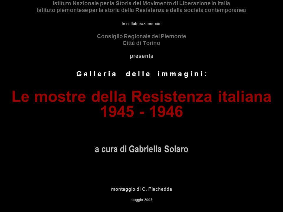 MOSTRA della RICOSTRUZIONE Milano, agosto 1945 Archivio INSMLI, Fondo Carpi.