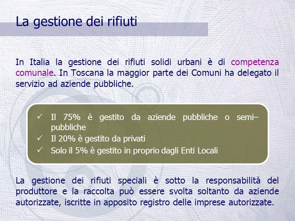 La Regione Toscana AREA: 22.992 Km 2 ABITANTI: 2.548.000