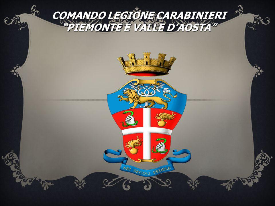"""COMANDO LEGIONE CARABINIERI """"PIEMONTE E VALLE D'AOSTA"""""""
