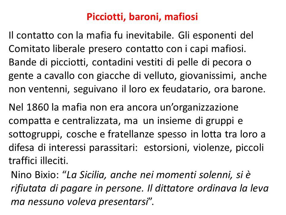 """Nino Bixio: """"La Sicilia, anche nei momenti solenni, si è rifiutata di pagare in persone. Il dittatore ordinava la leva ma nessuno voleva presentarsi""""."""