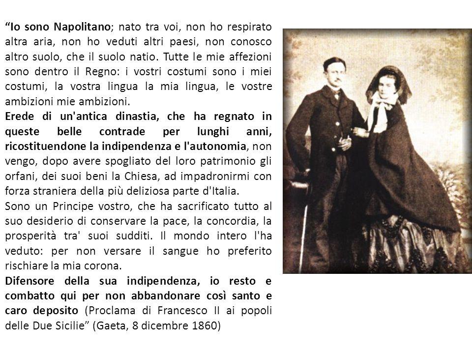 """""""Io sono Napolitano; nato tra voi, non ho respirato altra aria, non ho veduti altri paesi, non conosco altro suolo, che il suolo natio. Tutte le mie a"""
