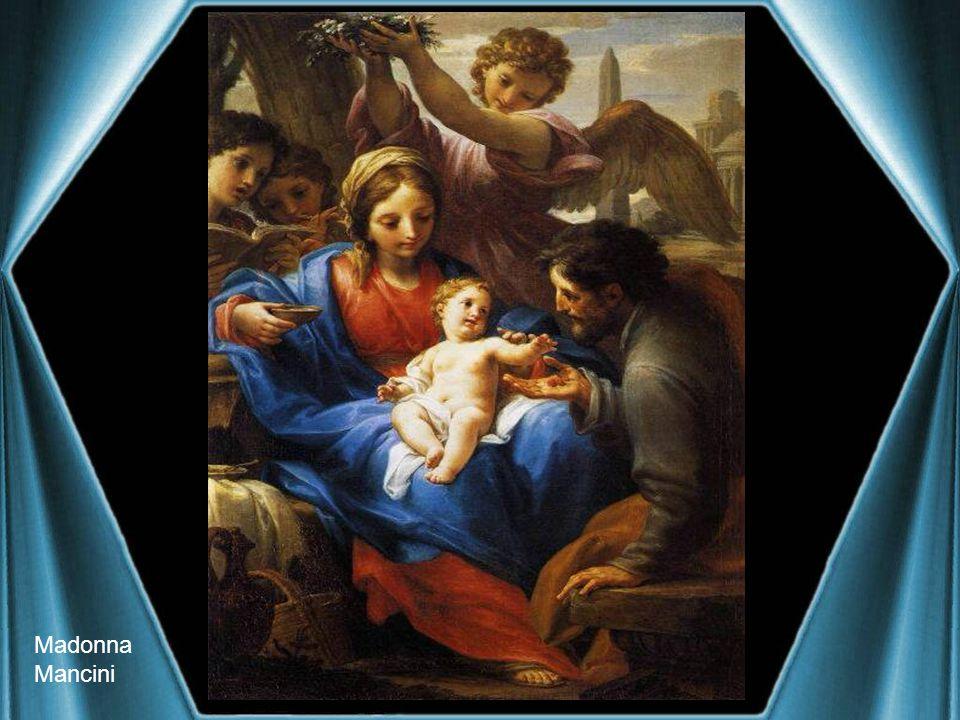 Madonna in adorazione Lorenzo di Credi