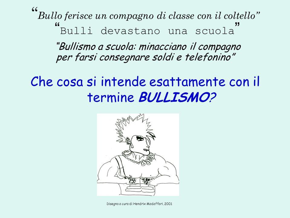 """"""" Bullo ferisce un compagno di classe con il coltello"""" """" Bulli devastano una scuola """" """"Bullismo a scuola: minacciano il compagno per farsi consegnare"""